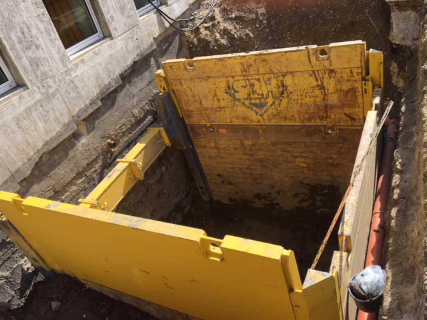 Külzer Bauunternehmen - Aussentreppe