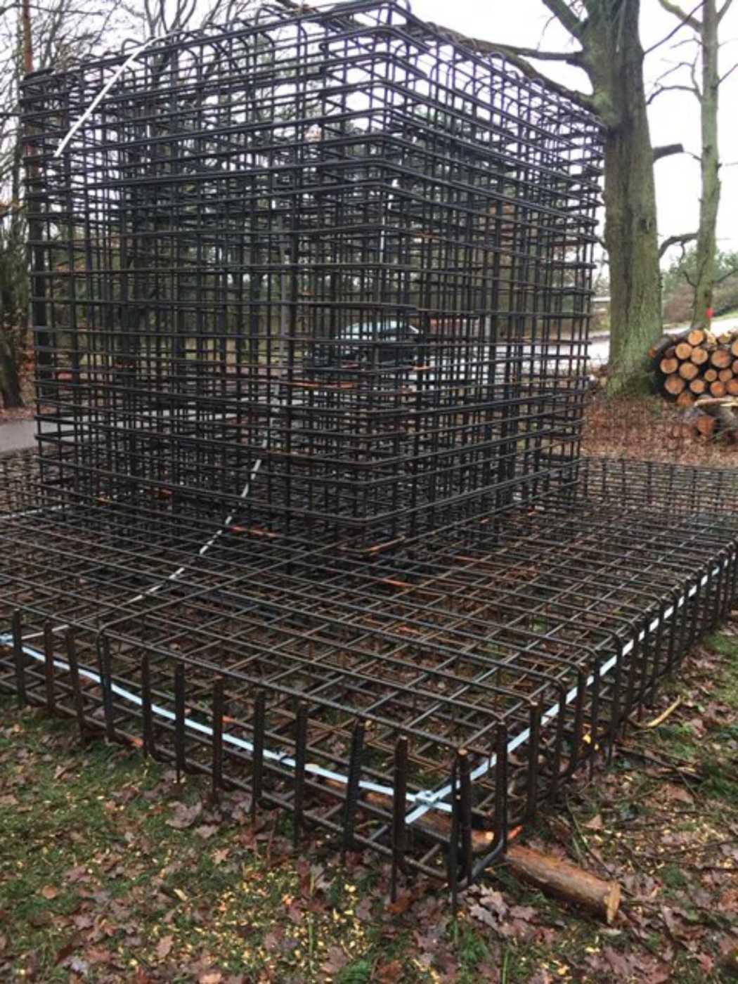 Külzer Bauunternehmen - Fundament Funkmast