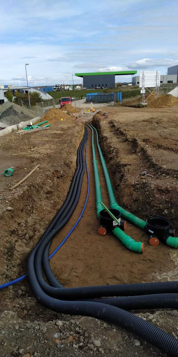 Külzer Bauunternehmen - Kanalarbeiten